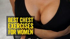 Workout Tips - Video : Best Chest Exercises for Women: Lift Breasts Naturally - Virtual Fitness Health Guru, Health Class, Health Trends, Health Fitness, Fitness Goals, Fitness Motivation, Cycling Motivation, Fitness Quotes, Best Chest Workout