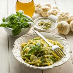 Healthy Pasta Recipe: How to Make Pasta with Basil Tapenade-Shape Magazine