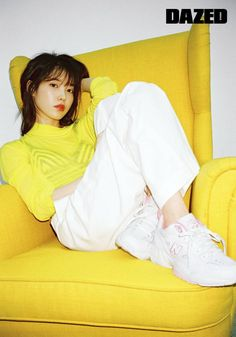 180506 IU for Dazed X New Balance Korea Interview. New Balance Korea, Snsd, Yoona, Love U Forever, Iu Fashion, Bae Suzy, Korean Actresses, Korean Outfits, Korean Women