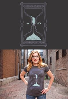 """Threadless tee """"Blink and You'll Miss It"""" by Julia Sonmi Heglund"""