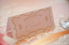 FRENCH ELEGANCE | Homemade Valentine's Day Inspiration + Free Printable Suite by Couture Events {Gift tags, love flags, place cards, love poems, blank menus…}