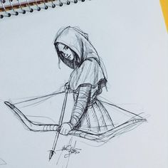 Yenthe Joline Art — Sketch again. I'm enjoying the nice weather here...