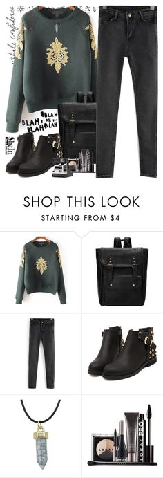 """SheIn 6"" by scarlett-morwenna ❤ liked on Polyvore featuring LORAC, Etiquette, vintage, women's clothing, women's fashion, women, female, woman, misses and juniors"