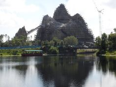 building Expedition Everest via @wdwfacts