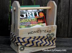 Garden Up Green: Homestead Tool Box Giveaway
