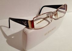Beautiful Versace Eyeglasses 1970s by InTheMood4Vintage on Etsy, $125.00