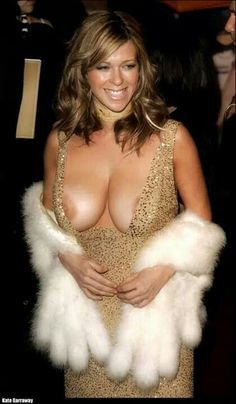 Kate Garraway, TV star and English radio, had a little too tight dress or had full air breasts. Description from pinterest.com. I searched for this on bing.com/images