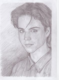An actor that was featured in the movie The neverending story. He sadly commited suicide a couple of years ago:( Ladybugs Movie, The Neverending Story, Cool Drawings, Ideas Para, All About Time, Angels, Sketches, Babies, Stars