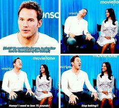 """Chris Pratt answers """"Can you re-enact your reaction to hearing you had been cast in a Marvel movie?"""""""