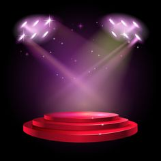 Stage podium scene with for award ceremo... | Premium Vector #Freepik #vector #background #business #abstract #light Birthday Background Wallpaper, Dance Background, Green Background Video, Green Screen Video Backgrounds, Festival Background, Poster Background Design, Black Background Images, Vector Background, Red Carpet Background