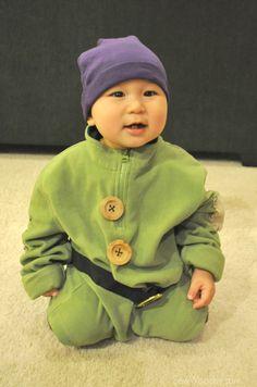 ***tyzek Dopey costume for Halloween   Easy DIY Costume Dopey The Dwarf Dwarf Costume, Easy Diy Costumes, Easy Halloween, Halloween Costumes, Disney Costumes, Halloween Outfits