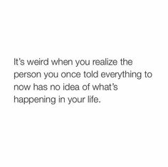 Not weird but just really sad.