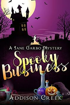 Spooky Business (Jane Garbo Mysteries Book by [Creek, Addison] Mystery Novels, Mystery Thriller, Book Nerd, Book 1, Real Vampires, Cozy Mysteries, Free Kindle Books, Nonfiction Books, Book Recommendations
