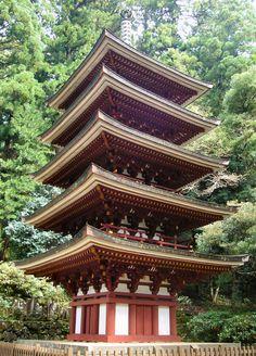 Murō-ji (室生寺) is a temple of Omoto school of Shingon Buddhism, located in the city of Uda, Nara, Japan.