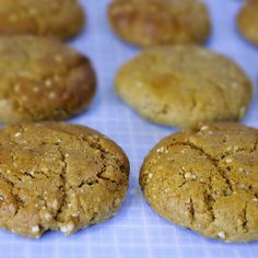 Home-made Protein Cookies - Wholefood Muscle FoodOm Nom Ally