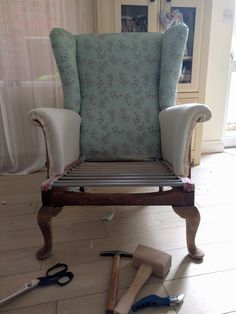 how to reupholster a parker knoll chair pinterest parker knoll