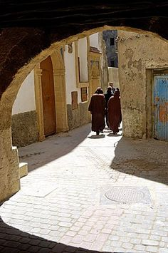 In the heart of the Medina, Essaouira, Morocco, North Africa, Africa