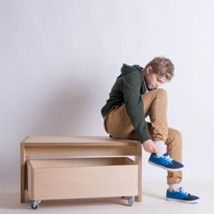 Plywood bench seat made in 24mm Birch plywood