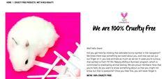 Cruelty Free Kitty, Cosmetics Market, List Of Brands, Wet N Wild Beauty, Neals Yard Remedies, Cute Bunny, Popsugar, Beauty Secrets, Animals