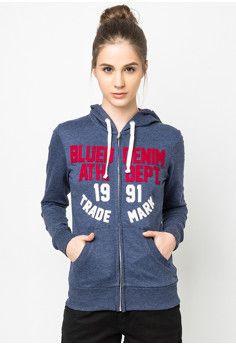 Blued Demetria Hoodie Jacket #onlineshop #onlineshopping #lazadaphilippines #lazada #zaloraphilippines #zalora