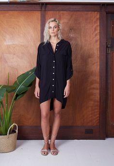 Sea Side Shirt Dress