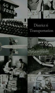 The Hunger Games Aesthetics: District 6