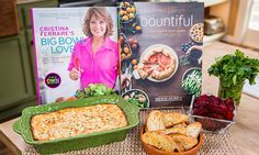Home & Family - Recipes - Cristina Cooks: Sweet Onion Dip & Baked Beet Chips | Hallmark Channel