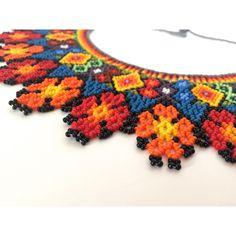 Collar Chaquiras elaborado por la tribu Embera de Colombia - IPUANA BARCELONA
