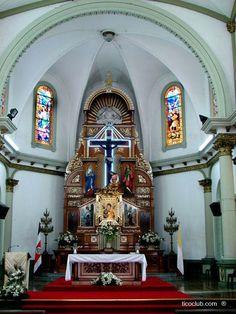 Altar Mayor, Iglesia La Agonía, Alajuela, Costa Rica