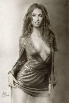 Megan Fox by god-loves-ice.deviantart.com on @DeviantArt