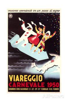 Travel Poster for Viareggio Posters AllPosters.fi-sivustossa