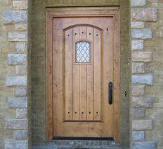 Exterior Knotty Alder Rustic Front Entry Doors 48\