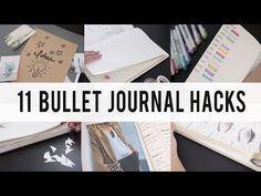11 BULLET JOURNAL HACKS – Ann Le Style