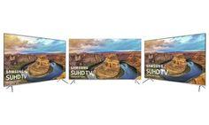 "Groupon - Samsung KS800 Series 55"", 60"", and 65"" LED 4K Ultra HD Smart TVs (Refurbished). Groupon deal price: $749.99"