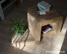 Ablage aus Karton!  #diy #selbstmachen #upcycling #stuhl #recycling