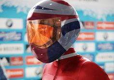 The new brand for British Bobsleigh & Skeleton focuses on the passion, determination and technology within two incredible Olympic sports. Skeleton Bob, Bobsleigh, Luge, Olympic Sports, Helmet Design, Sports Brands, Winter Olympics, Buckets