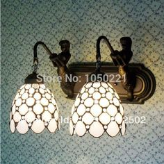 Aliexpress.com : Buy Modern Bathroom Sconces Tiffany Wall Sconce Vintage Wall Lamps Stained Glass Luminaria Banheiro Acrylic Modern Bathroom Sconce from Reliable lamp support suppliers on Wholesaler005  | Alibaba Group