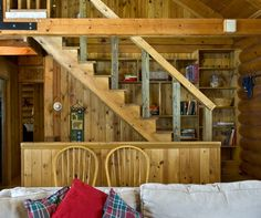 Downstairs steps