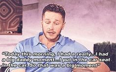 Awwwww :) Josh Dallas talking about his soon-to-be-born child