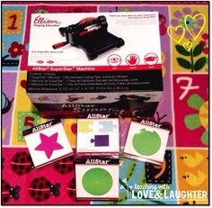 Teaching With Love and Laughter: Ellison AllStar Machine Review and AMAZING Giveaway!