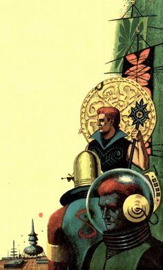 Lords of Atlantis, 1963. Unknow artist.