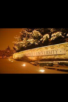PENN STATE – CAMPUS – Postcard-style Penn State landmark at the corner of Park Avenue and Porter Road
