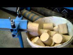Briketovací lis 70kg/hod, brikettpresse, brykieciarka, briquetting.mp4 - YouTube