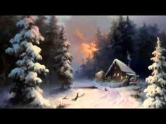 So Allein Amigos - YouTube Christmas Music, Christmas And New Year, Winter House, Jpg, Easy Paintings, Winter Season, Wonderful Time, Winter Wonderland, Wedding Bouquets