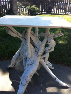 DIY Driftwood Table « Pomp And Circumstance