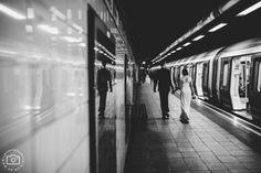 London Tube Wedding Photography