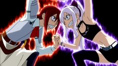 Mirajane Strauss and Erza Scarlet: Childhood Memories
