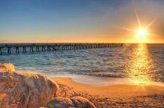 Port Noarlunga Beach Jetty, South Australia
