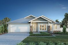 Tour Design, G. Gardner Homes - Custom Home Builders Die Hamptons, Hamptons Style Homes, Style At Home, Weatherboard Exterior, House Paint Exterior, Display Homes, Facade House, Custom Home Builders, Coastal Homes