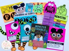 Monster Trouble is a favorite K-2 read aloud!  These supplemental vocabulary, math, and literacy activities are great to help extend reading and dig deeper into the text.  The STEM challenge included is a perfect extension, too!  If Monster Trouble isn't already one of your favorites, it will be after this!